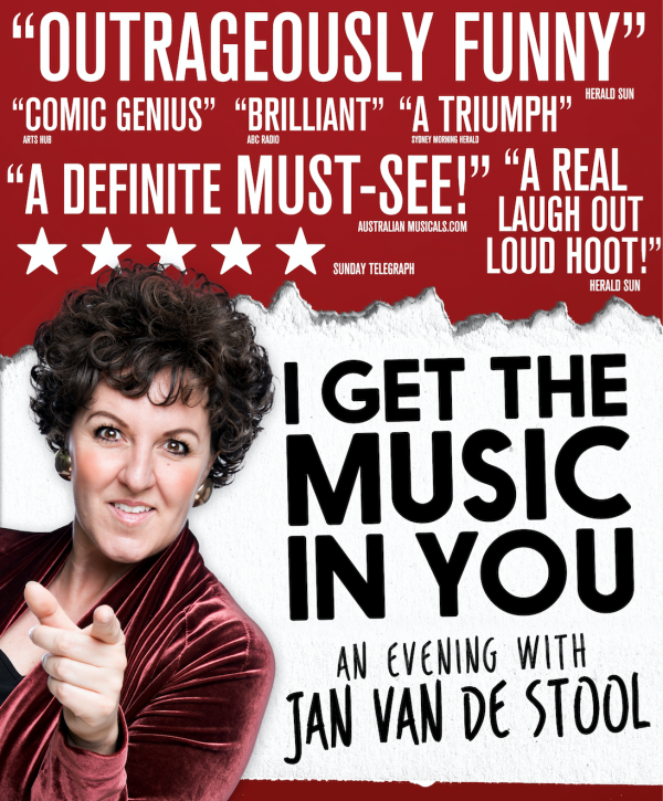 Queenie van de Zandt as Jan van de Stool in I Get The Music In You